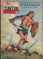 Journal TINTIN - Edition Belge.    1955.  N38.    Couverture  Funcken. - Tintin