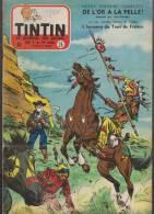Journal TINTIN - Edition Belge.    1955.  N°26.    Couverture  Funcken. - Tintin