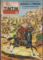 Journal TINTIN - Edition Belge.    1955.  N°28.    Couverture  Craenhals. - Tintin
