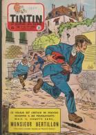 Journal TINTIN - Edition Belge.    1955.  N30.    Couverture  Reding. - Tintin