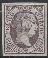 ESPAGNE - Très Bon FAUX Du 12 C. De 1851 Neuf - 1850-68 Kingdom: Isabella II