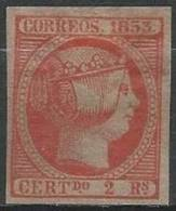 ESPAGNE - Très Bon FAUX Du 2 R. De 1853 Neuf - 1850-68 Kingdom: Isabella II
