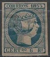 ESPAGNE - Très Bon FAUX Du 6 R. De 1853 Neuf - 1850-68 Kingdom: Isabella II