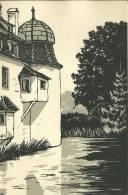 Suisse Bottmingen Carte Publicitaire Agence Chemins Fers Federaux MONO - Publicités