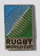 Pin's RUGBY WORLD CUP - Logo De La Coupe Du Monde De Rugby - C385 - Rugby