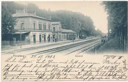 Pinneberg -- Bahnhof -- KNACKSTEDT & NATHER, 1903 -- Simple (UDB) - Pinneberg