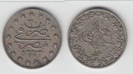**** EGYPTE - EGYPT - 1 QIRSH 1293/30 (1904) ABDUL HAMID II **** EN ACHAT IMMEDIAT - Egipto