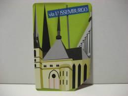 5 EX 1503 - CITTA´ DELL´EURO VIA LUSSEMBURGO - USATA PERFETTA G - Pubbliche Pubblicitarie