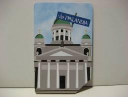 10 EX 1508 - CITTA´ DELL´EURO VIA FINLANDIA - USATA PERFETTA G - Public Advertising
