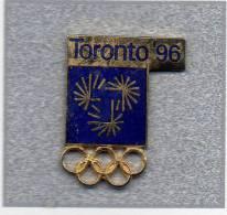 Pin´s  Sport  J.O  TORONTO  1996 - Jeux Olympiques