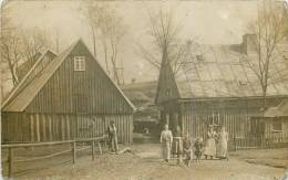 Villageois- Cachet; Reichenbach Eger - Carte Photo Par Oskar Winckler-  Bel Etat (voir 2 Scans) - Sudeten