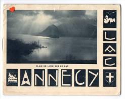 ZE-74-LAC D´ANNECY--Petit Livret De 8 Pages---------Gravure Et Impression SADAG DE FRANCE (BELLEGARDE) - Advertising