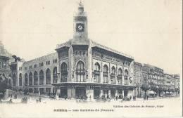 Cp Afrique Algérie ALGER Les Galeries De France / Commerce Horloge - Algerien