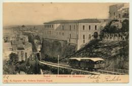 NAPOLI FUNICOLARE DI MONTESANTO 1904 - Napoli