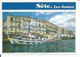 756 - SETE -  TOURNOI DE JOUTES SUR LE QUAIS  ( FETE DES PECHEURS - LA MARINE ) CETTE - Sete (Cette)