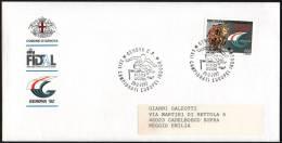 ATHLETICS - ITALIA GENOVA 1992 - XXII CAMPIONATI EUROPEI INDOOR D´ATLETICA LEGGERA - BUSTA UFFICIALE - Atletica