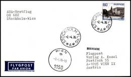 Sweden 1976, Airmail Cover Stockholm To Wien