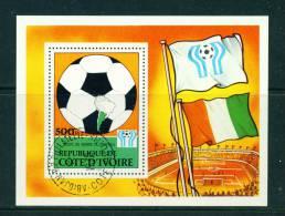 IVORY COAST - 1978 Football World Cup Miniature Sheet As Scan - Ivory Coast (1960-...)