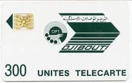 @+ Djibouti - OPT 300U - SC4 OB - Série N° 8715 Impact - Djibouti