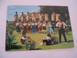 EL- COSTUMES LANDAIS...GROUPE FOLKLORIQUE DE ST-JULIEN EN BORN...FLAMME 1979 - Unclassified
