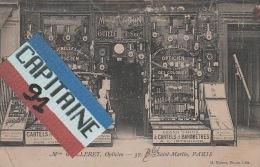 MAISON GUILLERET OPTICIEN 37 BLD SAINT MARTIN PARIS 3 EME - Arrondissement: 03