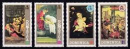 Dominica - 1972 - ( Christmas - Paintings ) - Complete Set - MNH (**) - Dominica (1978-...)