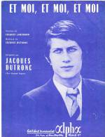 Partition  ET MOI ET MOI ET MOI Jacques Dutronc Paroles Et Musique, Accords De Guitare - Autres
