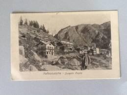 VALTOURNANCHE BORGATA CREPIN 1919 VIAGGIATA OTTIMO STATO - Italien