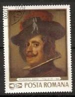 "Romania 1969  Paintings: ""Philipp IV""  (o)  Velazquez - 1948-.... Repúblicas"