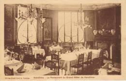 VENDOME  Le Restaurant Du Grand Hôtel De Vendôme - Vendome