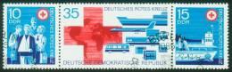 DDR  1972  Deutsches Rotes Kreuz Der DDR  (1 Zsdr Gest. (used) Kpl. )  Mi: 1789-91 (1,90 EUR) - [6] République Démocratique