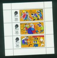 DDR  1975  Märchen X - Des Kaisers Neue Kleider  (1 Klb ** (MNH) Kpl. )  Mi: 2096-98 (2,50 EUR) - Neufs