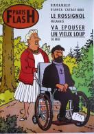 PARIS FLASH : PASTICHE  PARODIE De TINTIN / ÉDITION ORIGINALE !!!  / TBE ! - Tintin