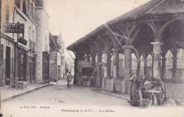 """¤¤  -   COMBOURG   -   Les Halles , Marché  -  Hôtel """" Gentil """"   -  ¤¤ - Combourg"""