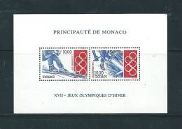 Monaco Bloc Feuillet  N°63 Neuf ** - Bloques