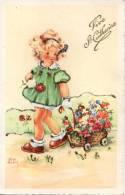 Belle CPA , Ste Catherine , Fille , Fillette  ,( Luce Andrée )... écrite ... - Zonder Classificatie