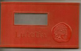 Boite A Cigares LUTETIA En Plastique Rouge D'origine - Scatola Di Sigari (vuote)