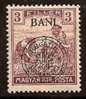 ROMANIA 1919 HUNGARY OCCUP CLUJ SC # 5N3 MLH - Occupazione