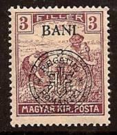 ROMANIA 1919 HUNGARY OCCUP CLUJ SC # 5N3 MLH - Besetzungen