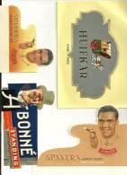 Etiquettes De Boites De Cigares. Un Lot De 4 étiquettes Dimensions Diverses - Autres Collections