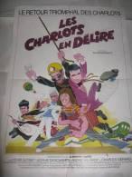 AFFICHE  Cinéma  ,LES CHARLOTS EN DELIRE - Posters