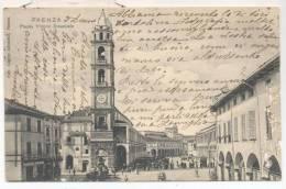3824-FAENZA(RAVENNA)-PIAZZA VITTORIO EMANUELE-ANIMATA-1904-FP - Faenza