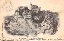 82 - Bruniquel - Château Historique - France