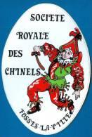 SOCIETE ROYALE DES CHINELS De FOSSES-LA-VILLE (Autocollant) - Stickers