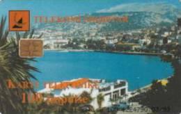 Albania - ALB-30, Town Around Bay, 100u, 3/99, 90,000ex, Used - Albanie