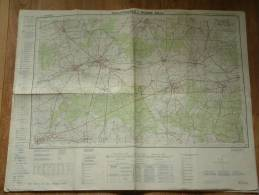 Belgie Stafkaart PHILIPPEVILLE - Rosée 53/5-6 - 1/25.000 ! - Europe