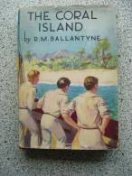 THE CORAL ISLAND BY R.M. BALLANTYNE - Boeken, Tijdschriften, Stripverhalen