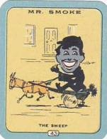 Carreras Vintage Cigarette Card N0 43 Mr Smoke The Sweep - Sigaretten