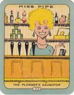 Carreras Vintage Cigarette Card N0 33 Miss Pipe The Plumbers Daughter - Sigaretten