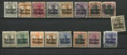 Germany Poland 1916 Accumulation Used/Unused Overprint CV 48 Euro - Germany